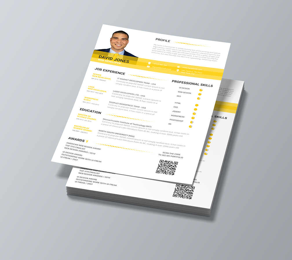 Cover Letter And Resume Template Download