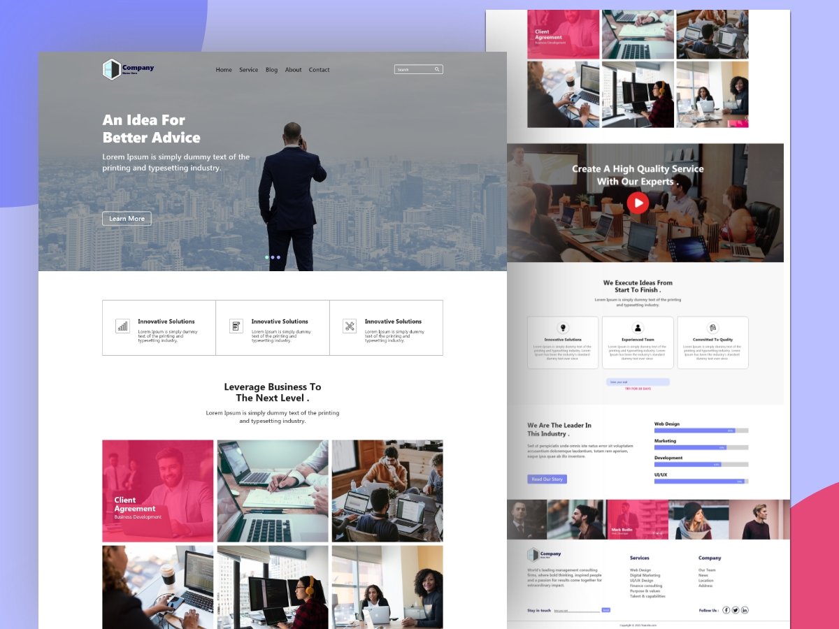 Multipurpose-Creative-Digital-Agency-Website-Design-Template