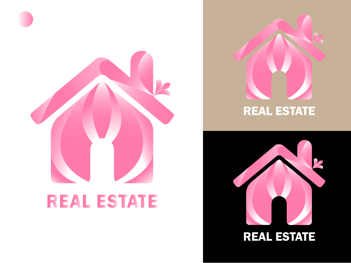 Real Estate logo Free Vector Download