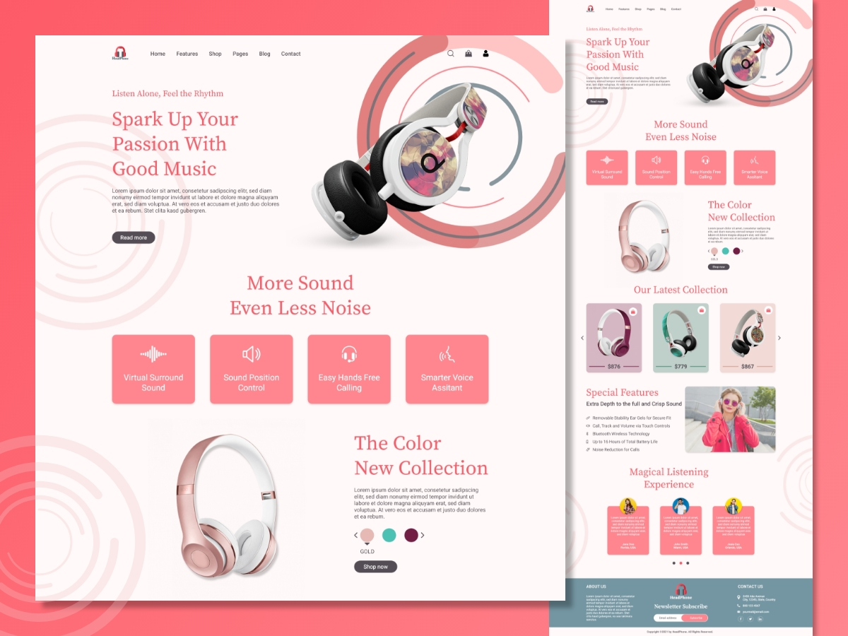 eCommerce-Headphone-Shop-Landing-Page-Template-Design-Concept