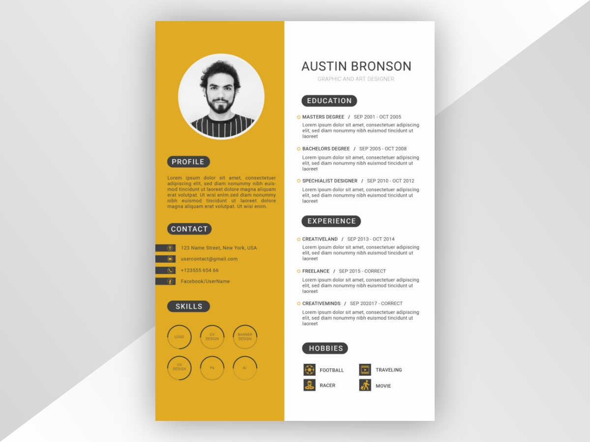 Professional-Resume-Template-Free