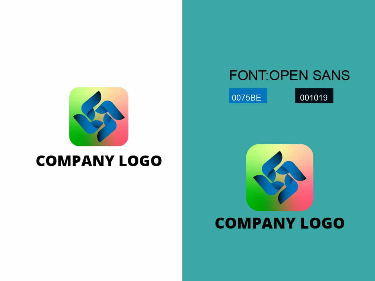Modern Business And Company Logo Design Template
